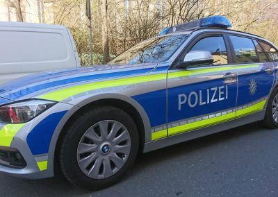 Polizei_Foliendesign