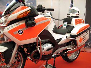Motorradstreife